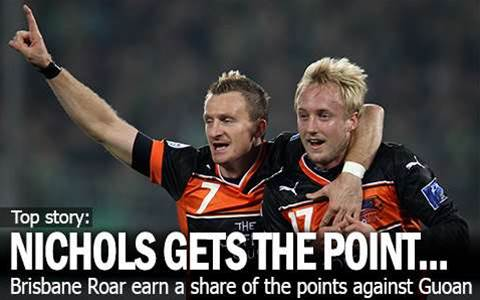 Mitch Nichols Gets The Point For Roar