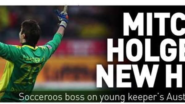 Holger Hails BVB Hero Mitch