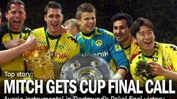 Langerak Helps Dortmund To Cup Glory