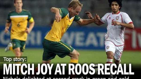 Mitch's Joy At Socceroo Recall