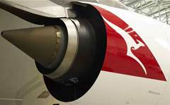 Aussie IT execs caught in Qantas engine scare