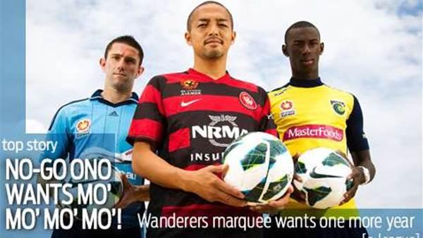 No-go Ono wants mo' mo' mo'...