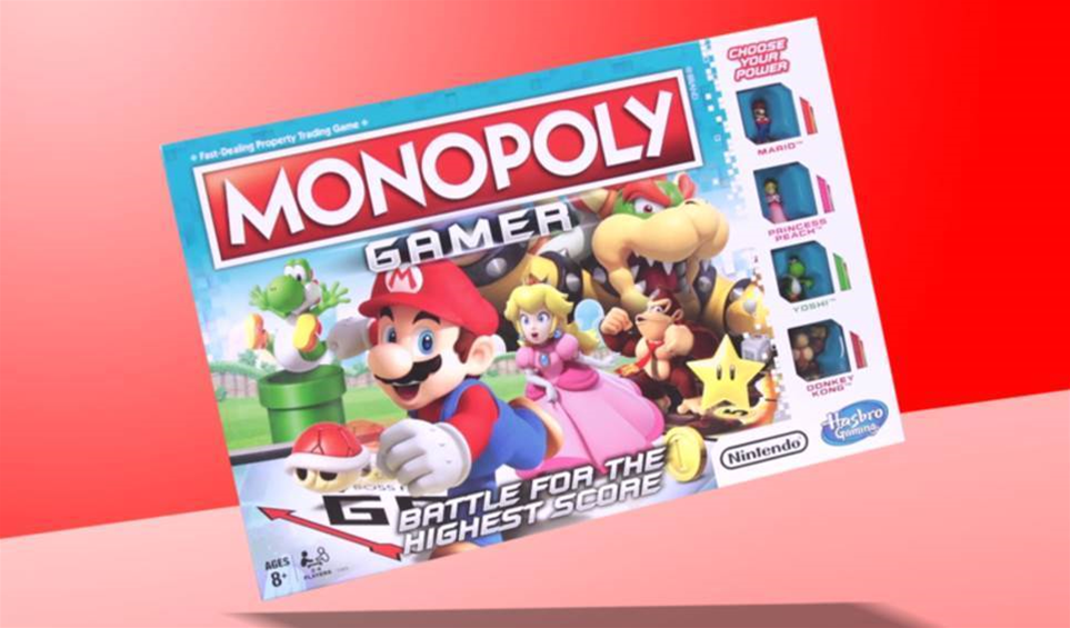 Mario's Monopoly Gamer will get you playing board games outside of Christmas