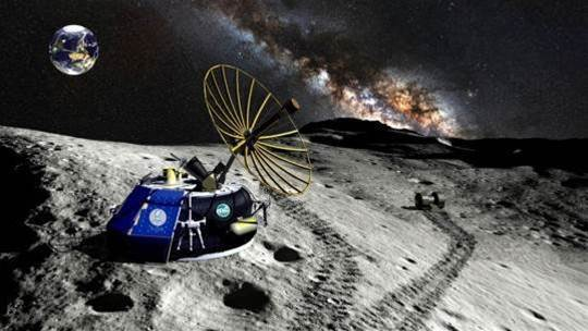 """Lunar mining firm Moon Express funds first trip to """"eighth continent"""""""