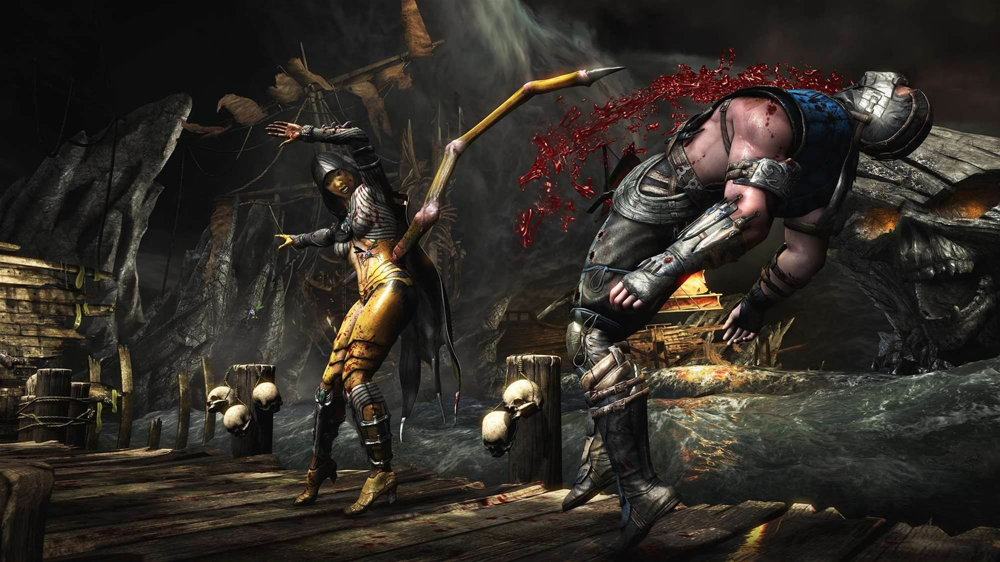 Mortal Kombat X cops an R18+ rating