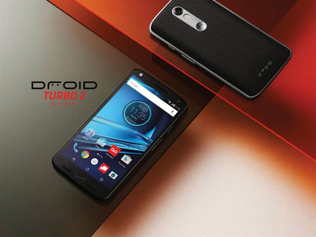 Motorola's Droid Turbo 2 has a shatterproof Quad HD screen