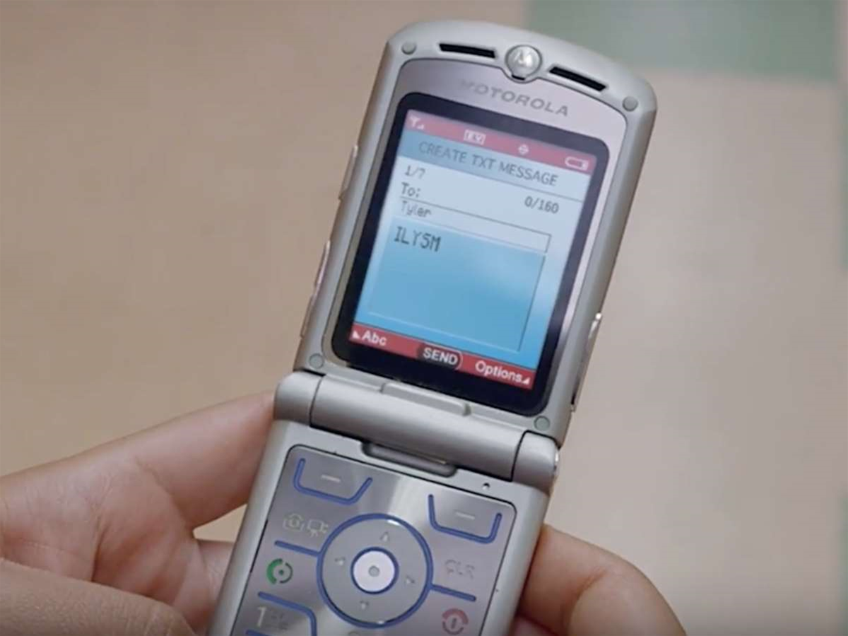 Lenovo uses the classic RAZR to tease a new Moto phone on 9 June