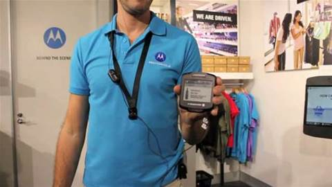 Retailers: would you wear this gadget around your neck?