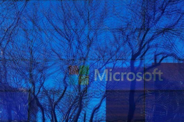 Microsoft profits from cloud service demand