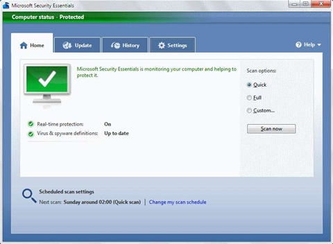 Microsoft Security Essentials free for small businesses from October