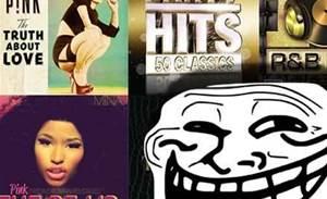 Hacker uses bots to top music charts, bumps P!nk, Nicki Minaj