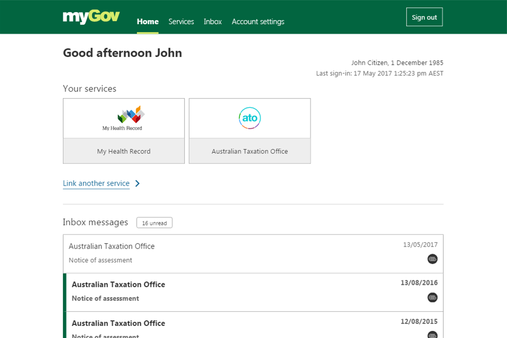 MyGov gets a makeover