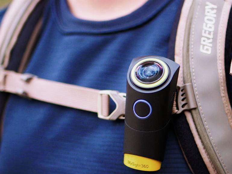 This wearable camera can level out an increasingly wonky world