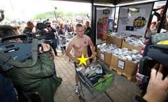 Quirky marketing idea #3: nude shopping
