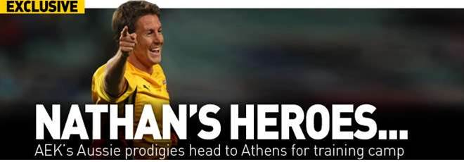 AEK's Aussies Head To Athens