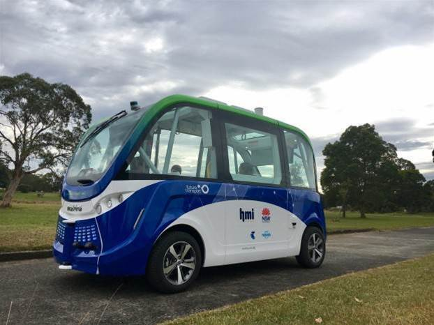 Two-year trial of driverless shuttle bus for Sydney