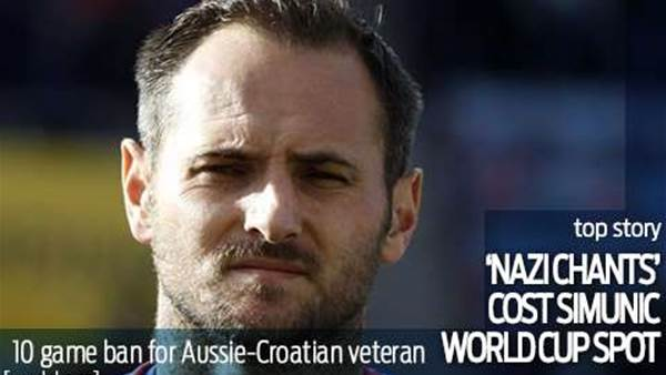 Aussie to miss World Cup over Nazi row