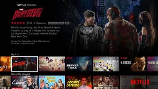 Netflix's US library halves in four years