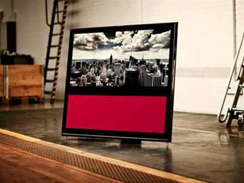 Bang & Olufsen paints the BeoVision 10 black