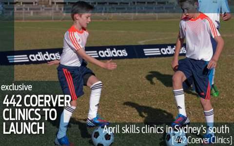FourFourTwo Coerver Coaching clinics launched