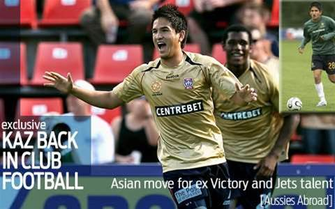 Kaz to make Asian move