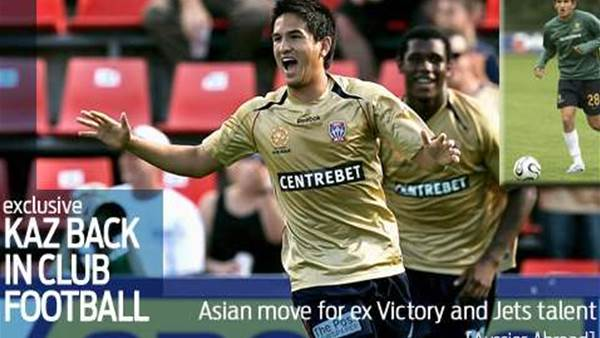 Kaz to make Asian move