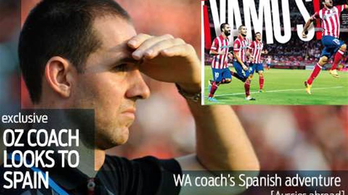 Oz coach's Spanish adventure