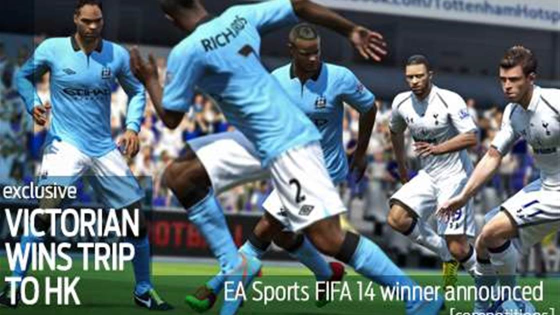 EA Sports FIFA14 winner