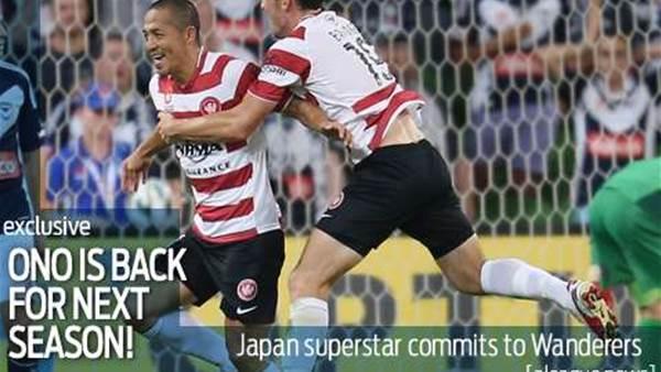 Ono signs for next season