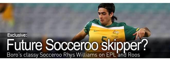 Future Socceroo Captain?