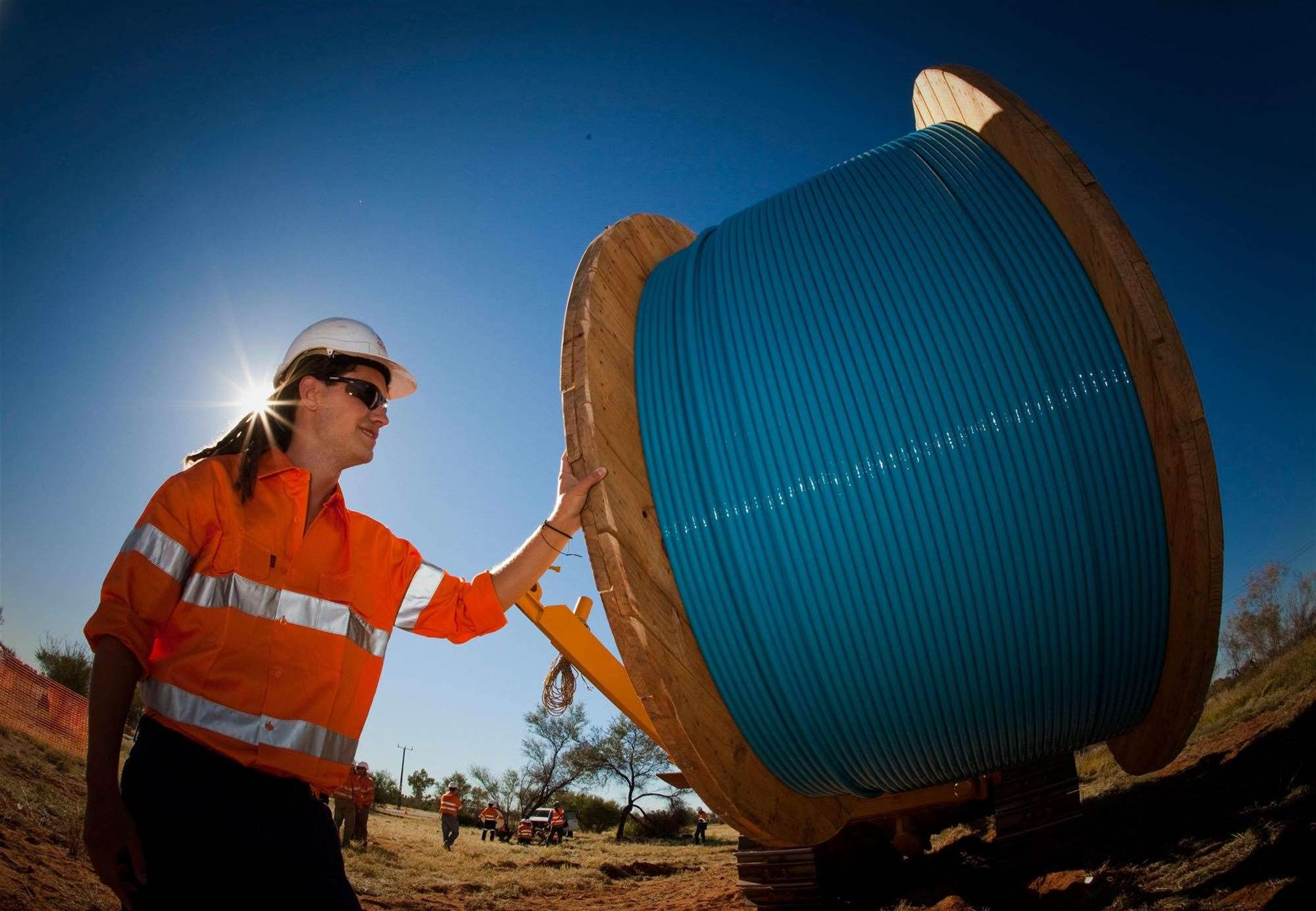 Audit tick for fibre backhaul blackspot scheme