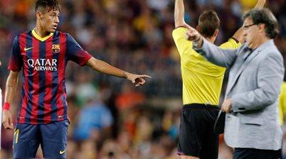 Martino challenges Neymar