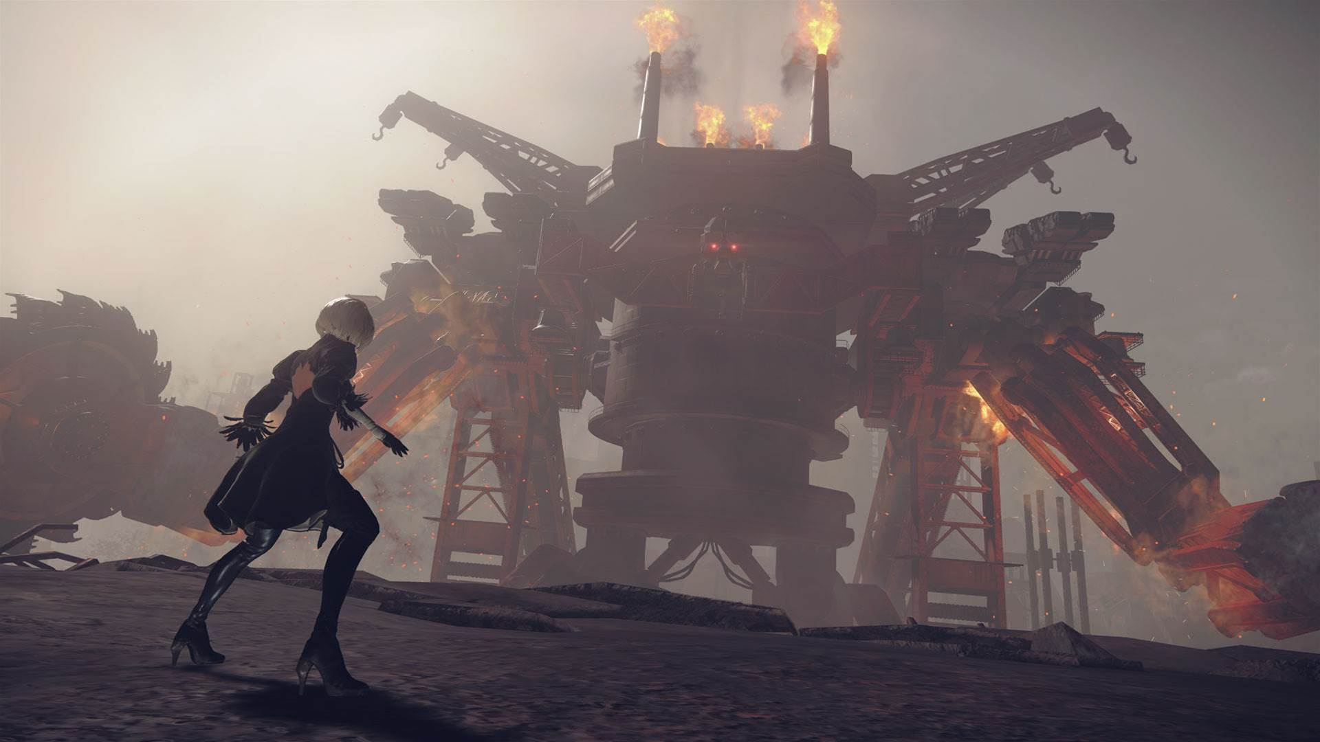 Nier: Automata is so amazing that it saved Platinum Games