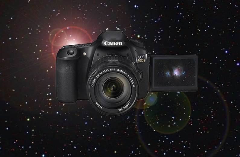 Canon EOS 60Da astro-photography camera unveiled