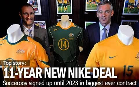 Nike's New 11-Year Socceroo Deal