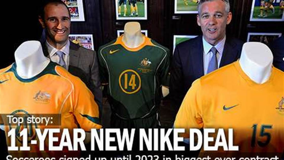 Nike's New 11-Year Socceroo Deal