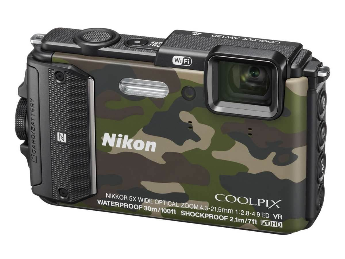 Nikon outs new waterproof Coolpix snappers