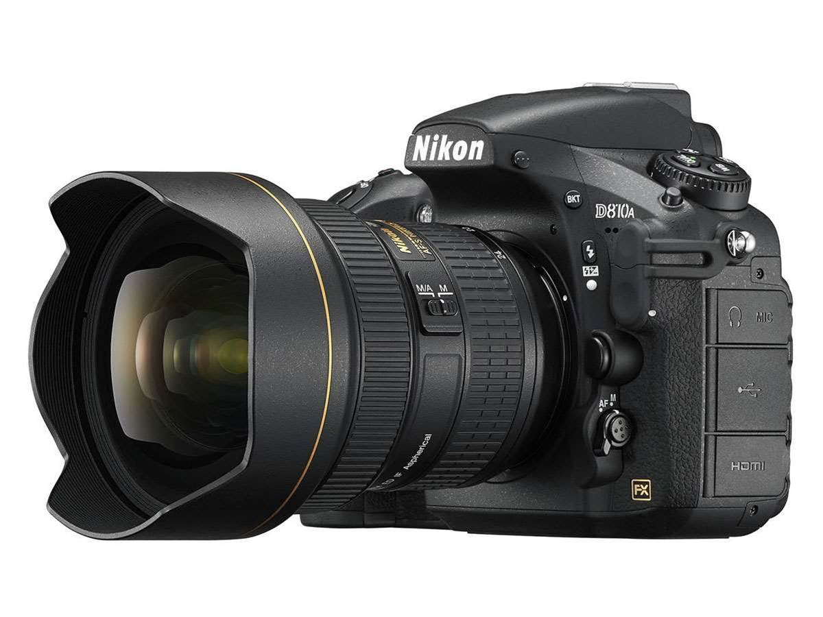 Nikon's D810A DSLR is engineered for shooting stars