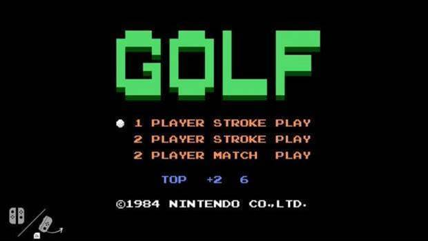 Nintendo has hidden NES classic Golf in every Nintendo Switch