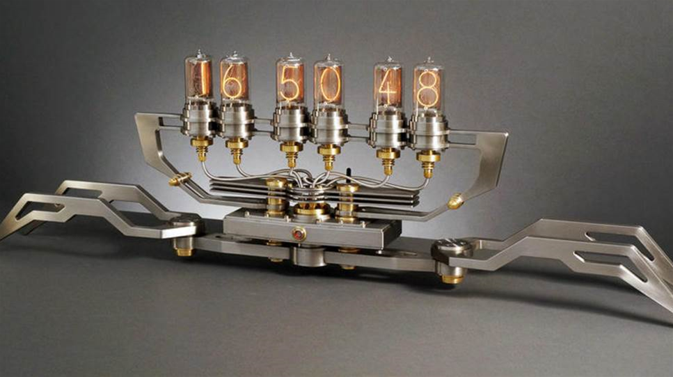 Nixie Machine II goes IoT with its tantalising tubes