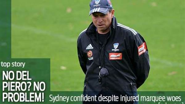 Sydney confident even without Del Piero