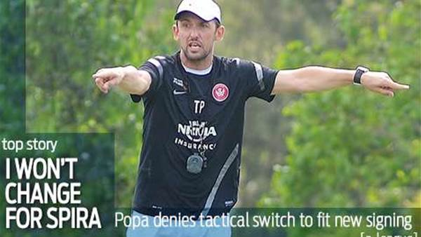 Popovic stands by Western Sydney style