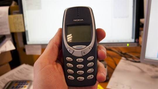 Unbreakable as ever, the Nokia 3310 returns