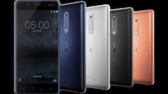 Nokia 5: A sleek, metal-based budget smartphone