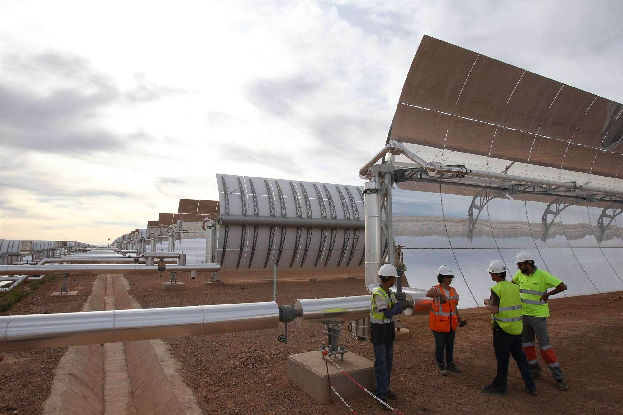 First Phase Of Giant Solar Power Plant In Morocco Turns On