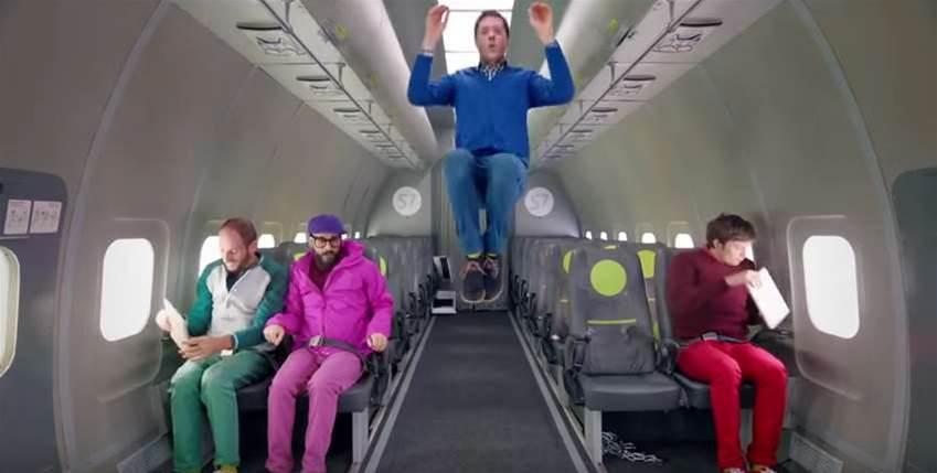 Watch Ok Go's Gravity-Defying Music Video
