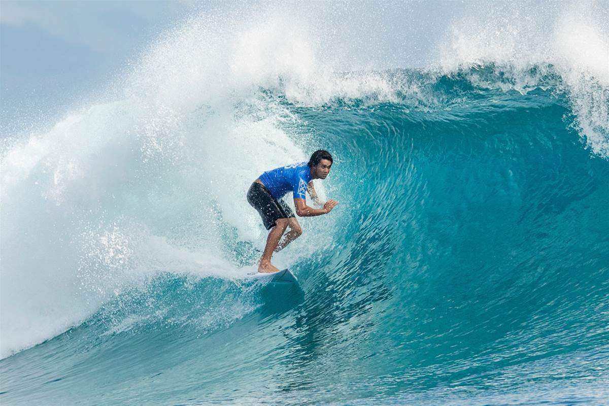 Fiji Pro | Blue Singlets Turn The Pacific Red