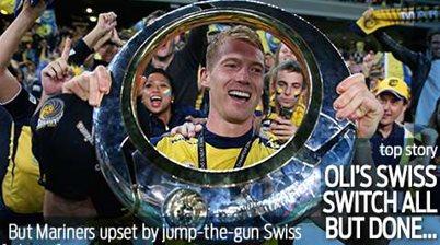 Bozanic's Swiss move all but done