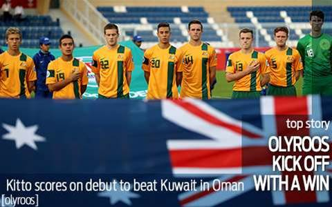 Olyroos kick off with win over Kuwait