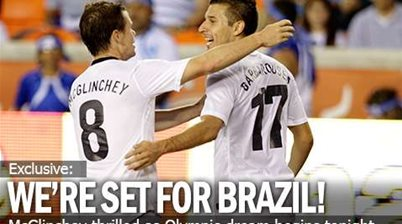 McGlinchey: We're Set For Brazil